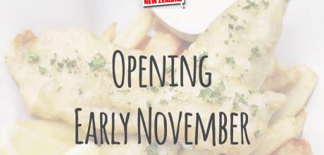 opening early november