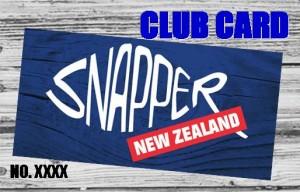 Snapper Club Card